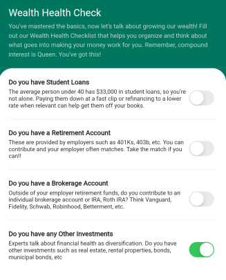 Managing your money is a lot easier with the step by step guidance offered in a money management app.