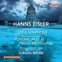 Hanns EISLER: Leipzig Symphony, Funeral Pieces, Nuit et brouillard (Leipzig MDR Symphony, Berlin Chamber Symphony, Bruns)