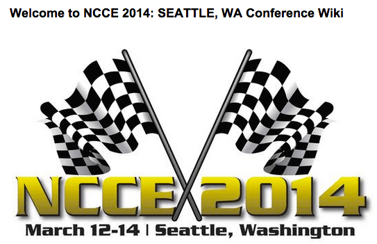 Maximizing your learning at NCCE 2014: Conference Wiki