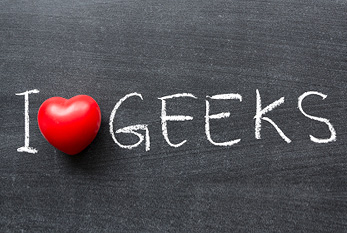 Embrace Your Geekness Day?  I'm a geek!