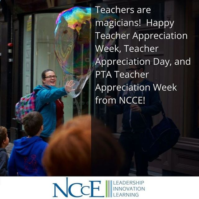 NCCE lt3s teachers! Cheers! nccechat teachers teachersrock edtech