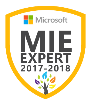 Celebrating our MIE Experts, Skype Master Teachers, and Surface Experts