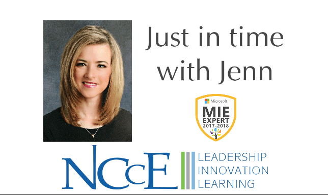 NCCE's Just in Time with Jenn | Episode 4: Tags