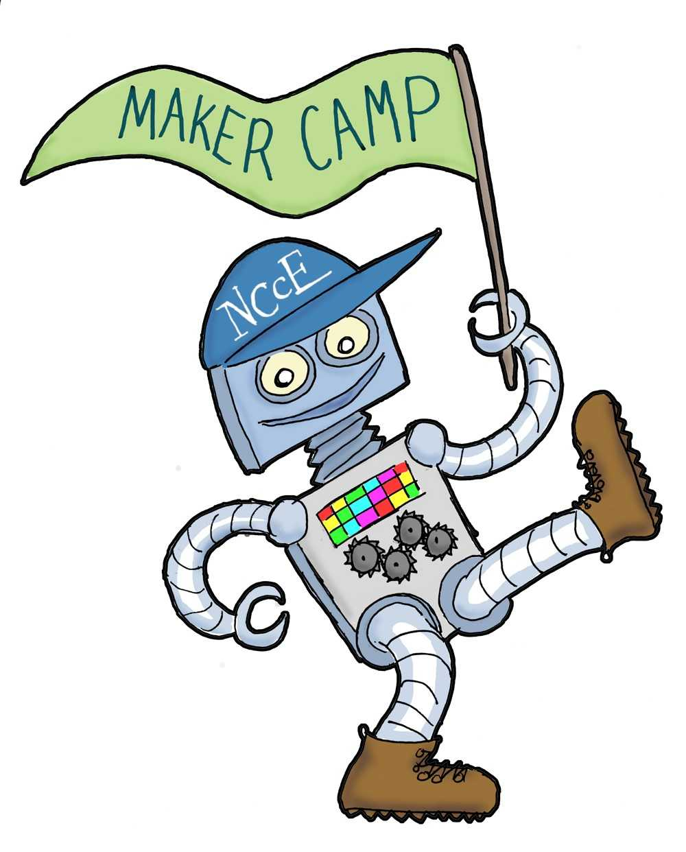 Guest Post: A Summer Camp for Makers: NCCE's Maker Camp