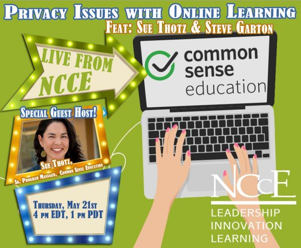 """Live from NCCE Acrhive: """"Privacy Issues with Online Learning"""""""