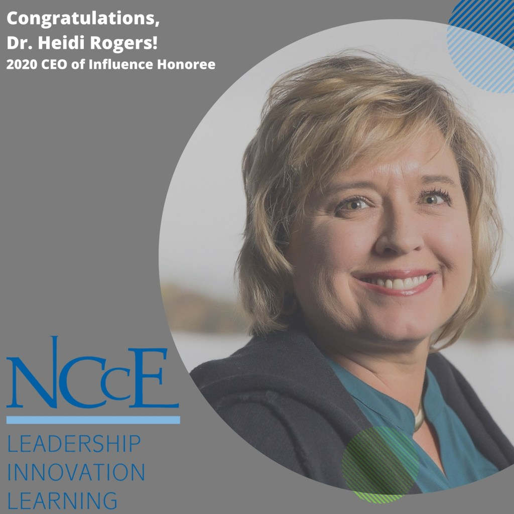 NCCE CEO/Executive Director Receives 2020 CEO of Influence Award