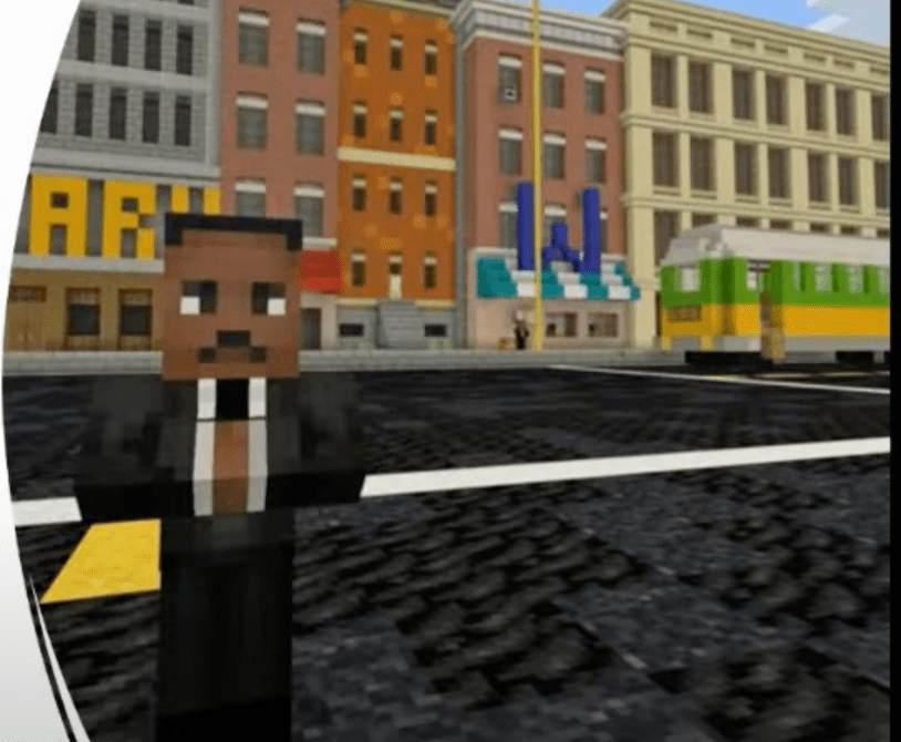 Amazing implementation of Minecraft: Good Trouble Lessons