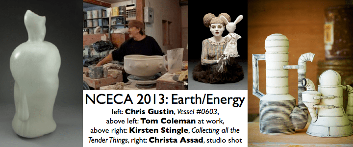 NCECA 2013 Pre/Post Conference workshops