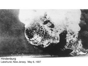 Hindenburg Crash, 1937
