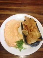 House made Chips & Cheese Stout Dip