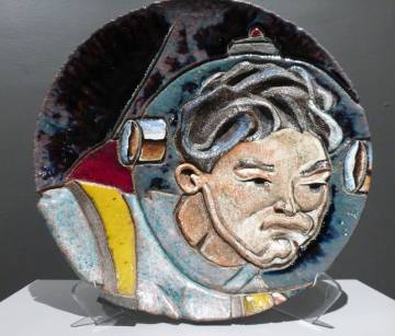 """Miguel Rodriguez from """"Every Semester, Collecting KCAI Ceramics"""