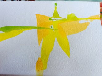 Painted greeting cards (with matching envelopes)