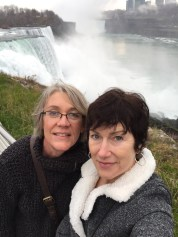 Jeanne and I at Niagra Falls