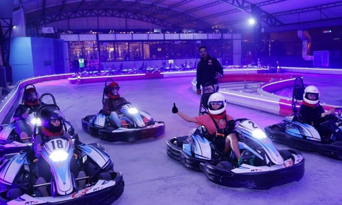 Gurgaon! Go Karting + Power Pong + Drinks for INR 385 at Sky Karting Is Calling Us For A Huge Adrenaline Rush!!
