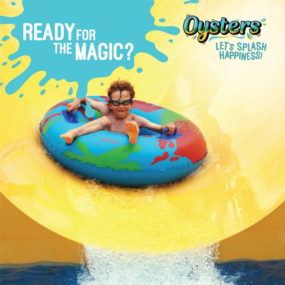Delhi!! Dodge The  Boredom And Jump On It At Oyster Water Park -Where The Magic Never Ends.