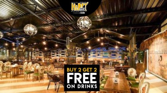 Bangalore!Starting From Shakesbierre The Happy Fest  Is All Set To Shake Your Day With Buy 2 Get 2 Free Offer On Drinks!!