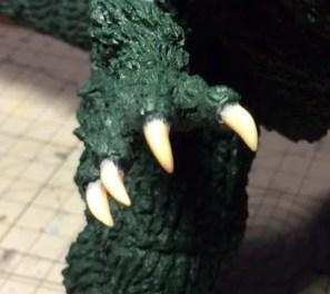 手の爪の初期状態