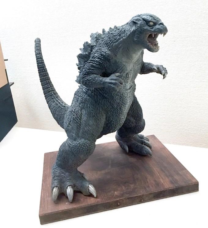 三丁目ゴジラの雛形模型