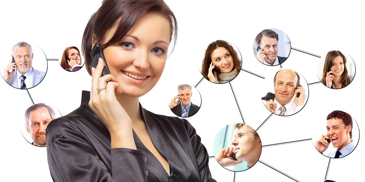 pessoa no telefone