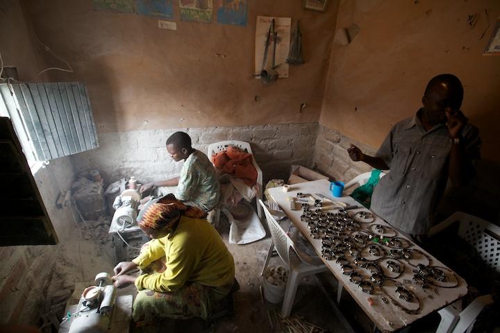 Ben's craft coop in Mathare, Kenya | Photo by Nelson Guda © 2019