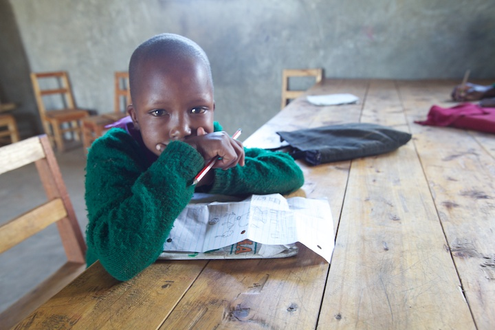 Masai school child | Photograph by Nelson Guda © 2019