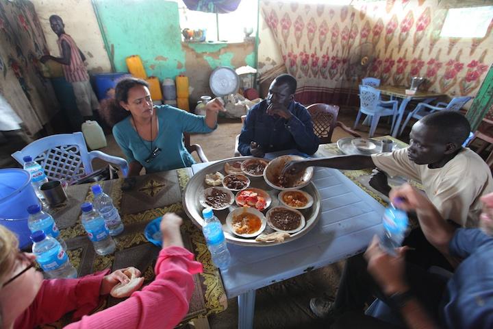 Lunch in Warawar, S. Sudan