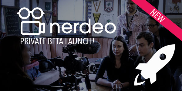 Nerdeo – Launches Private BETA For 300 People Only