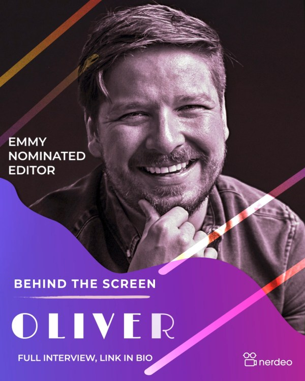 Oliver Riley – Smith on his career and using Nerdeo for Riot Act