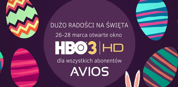 AVIOS HBO3 Świeta Wielkanocne