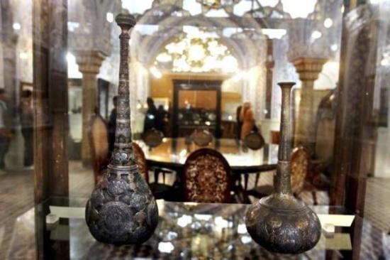 مینا کاری - نام موزه های تهران