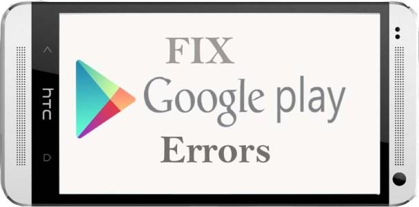 خطای گوگل پلی در اندروید