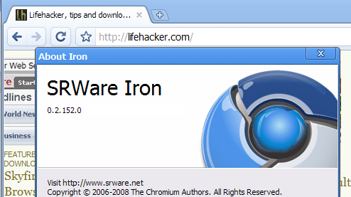 Iron Browser