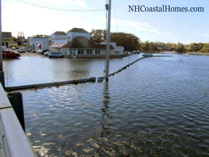 King Tide in Portsmouth New Hampshire October 2011.
