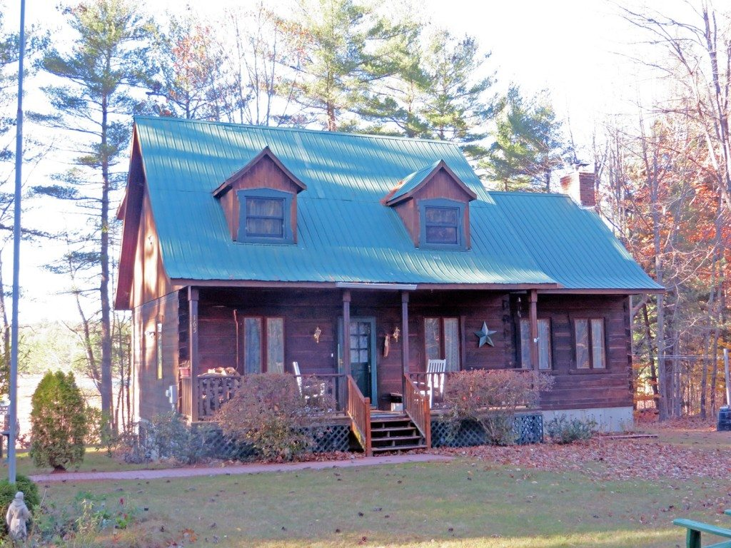 Imagine owning this peaceful New Hampshire lakefront log home. Fish or launch your kayak from your own backyard. Milton NH