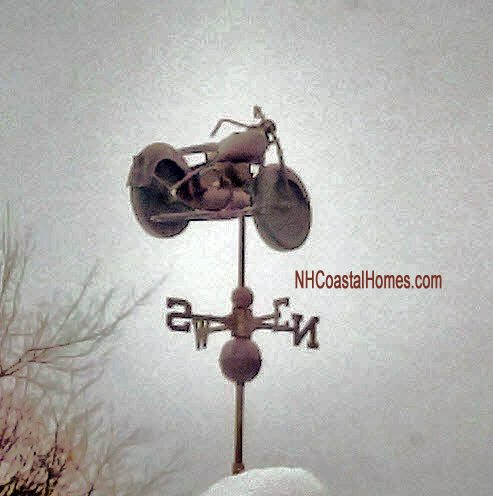 Portsmouth NH Harley weathervane