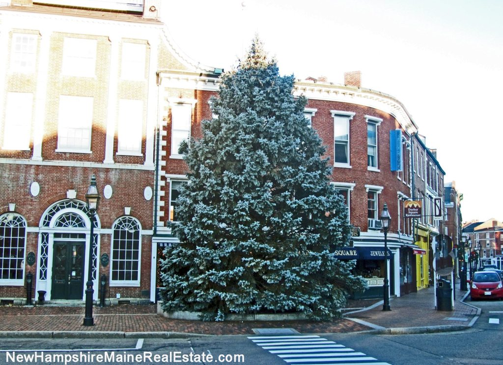 City of Portsmouth NH Christmas tree