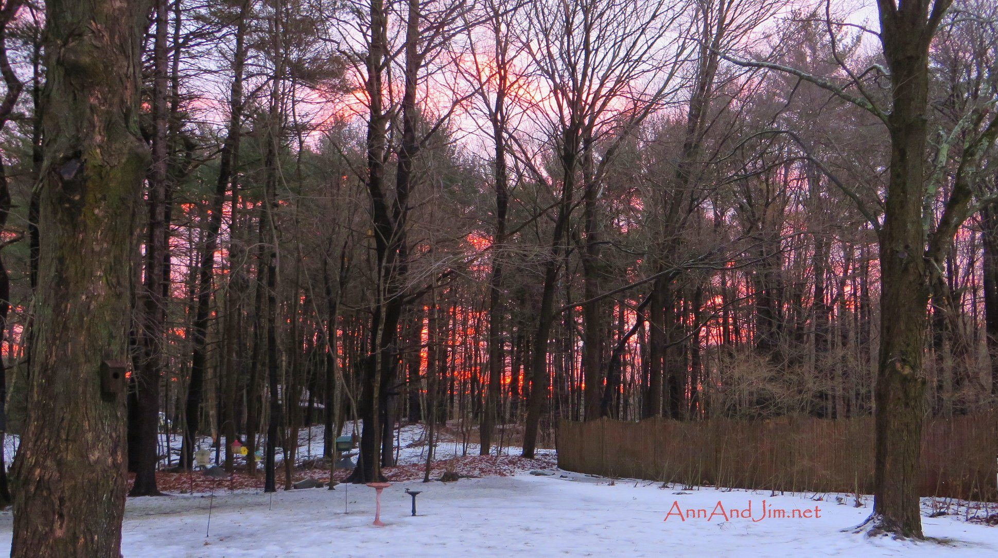 Sunrise and Sunset in NH