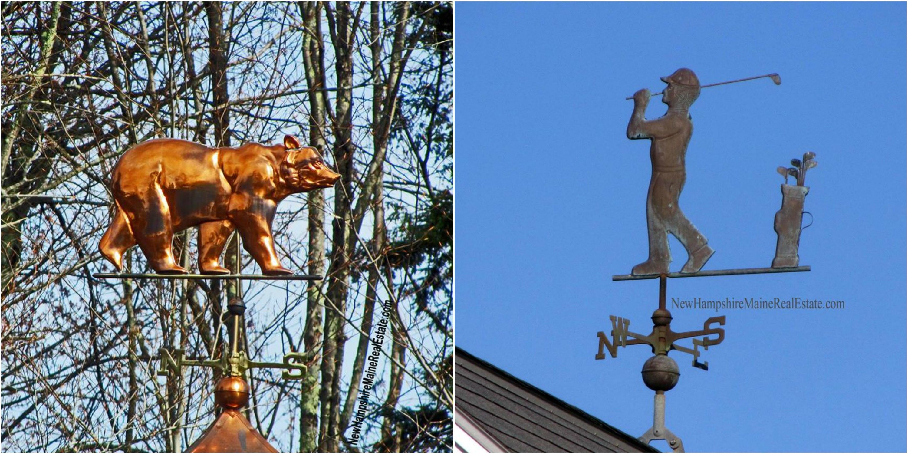 Portsmouth NH Photography Weathervanes along Portsmouth