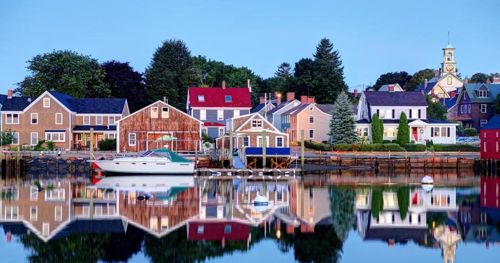 enjoying small-town charms when you buy a retirement home on the seacoast