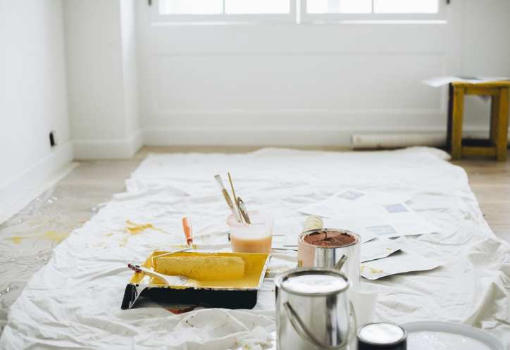 painting a home before selling