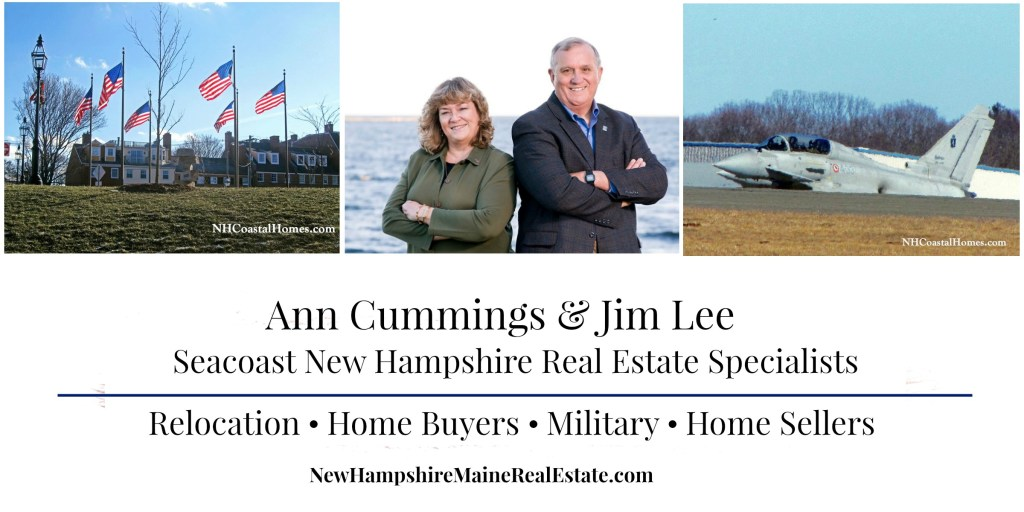 Ann Cummings and Jim Lee Portsmouth NH Relocation, Military, Buyer and Seller Real Estate Agents