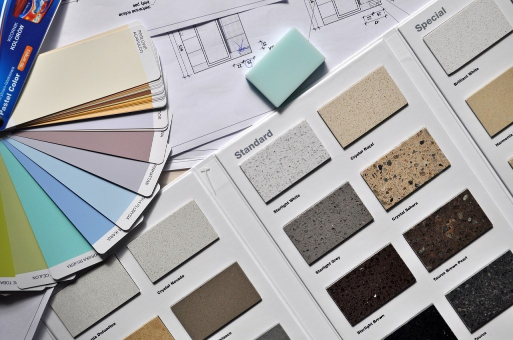 paint swatches for home decorating