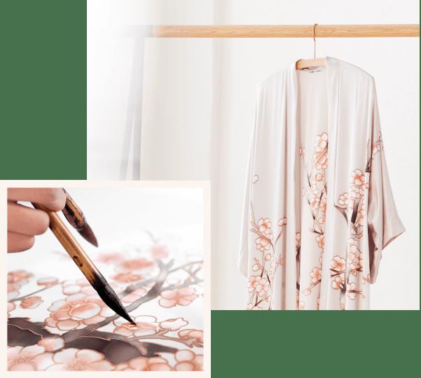 Women Kimono Robes