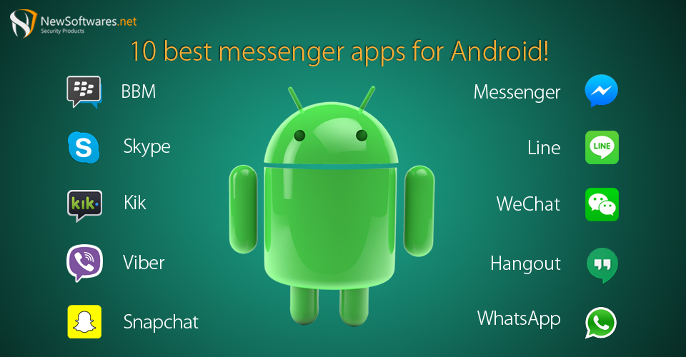 10 Best Messenger Apps for Android! - Technology & Security