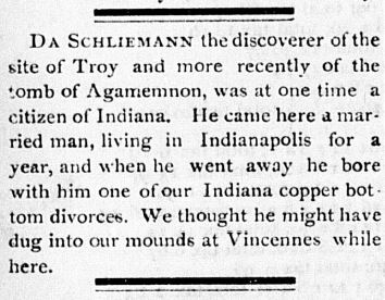 schliemann terre haute weekly gazette 8 feb 1877