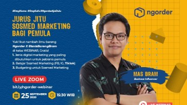 webinar sosial media marketing dan FB ads Ngorder