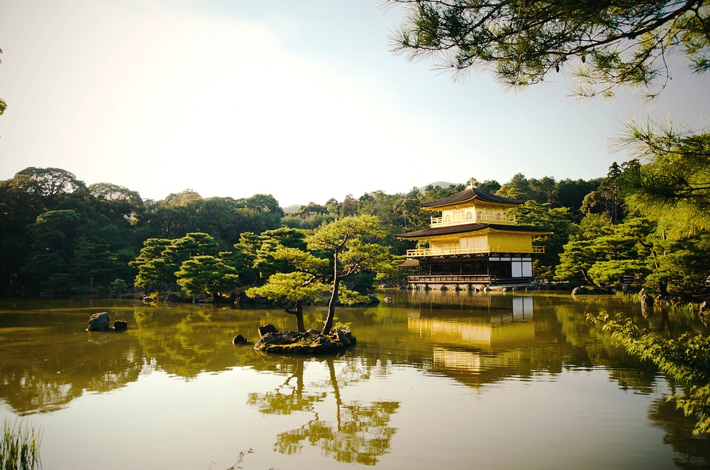 Golden Temple in Kioto