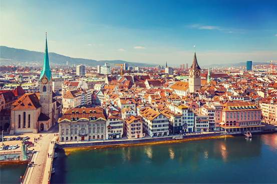 Zurich, the gateway to Switzerland