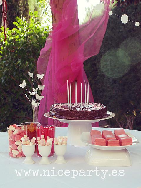 Nice Party: Cumpleaños mariposas3