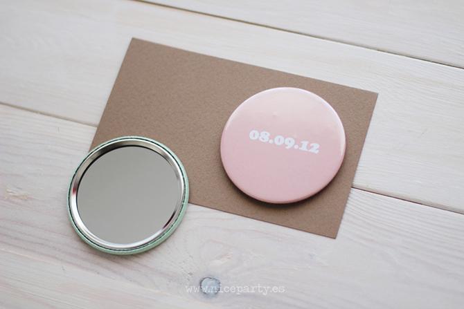 Nice Party espejos y abrebotellas personalizados  para el dia de tu boda